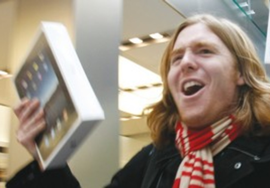 APPLE IPADS go on sale at an Apple Store in SF