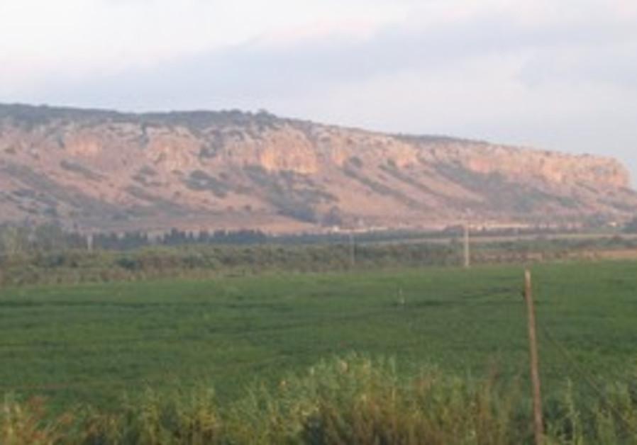 MOUNT CARMEL at sunset
