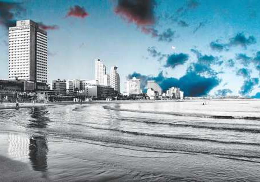 TEL AVIV is a main focus of Stephane Zerbib's work