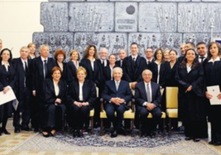 Swearing-in ceremony for 21 new judges