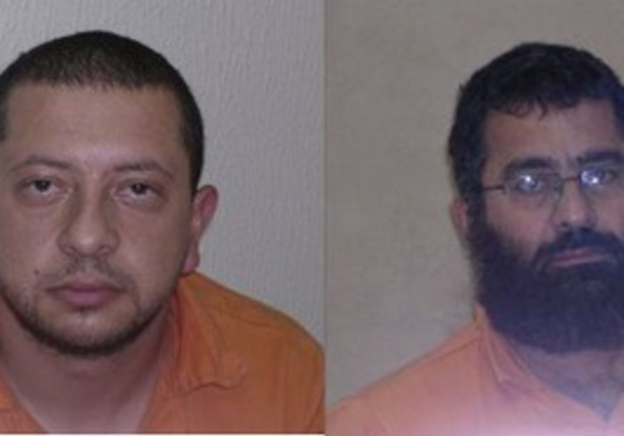 Terror suspects Bassem Omeri and Musa Hamada.