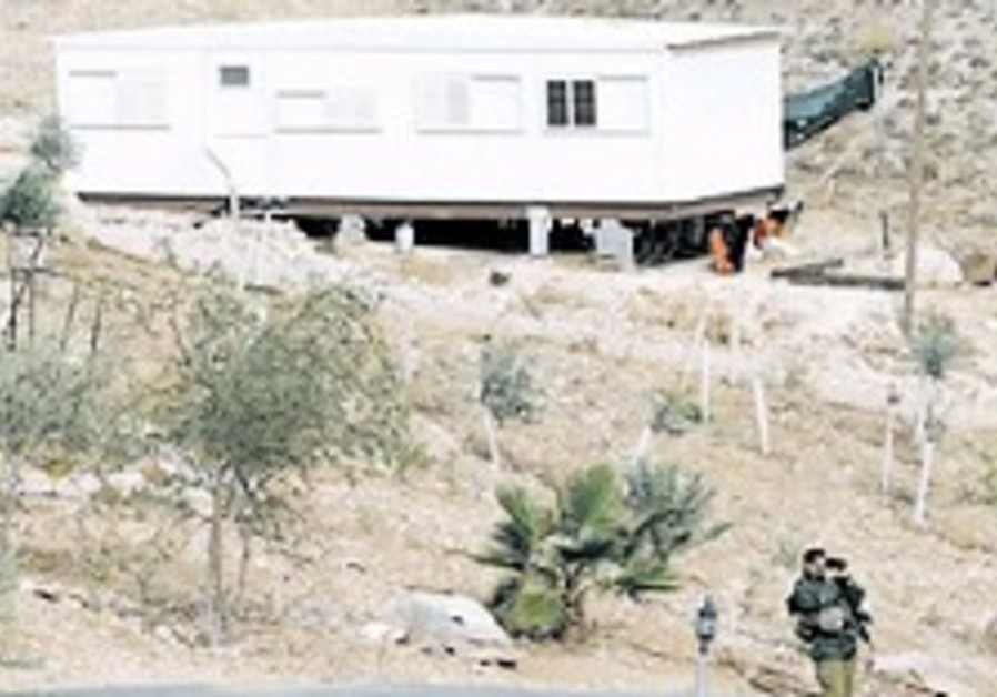 Settlers halt outpost negotiations in light of construction freeze