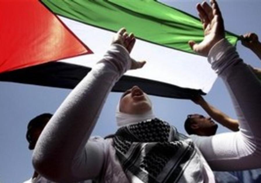 Palestinian supporter [illustrative]