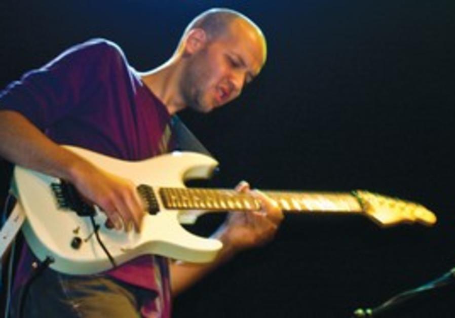 Guitarist Ido Bukelman.