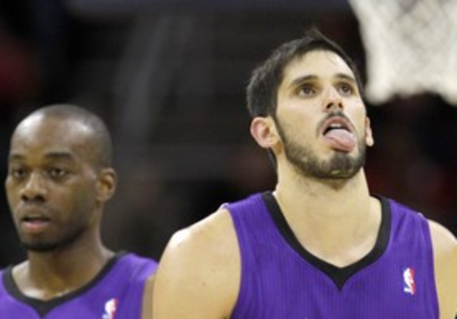 Sacramento Kings player Omri Casspi.