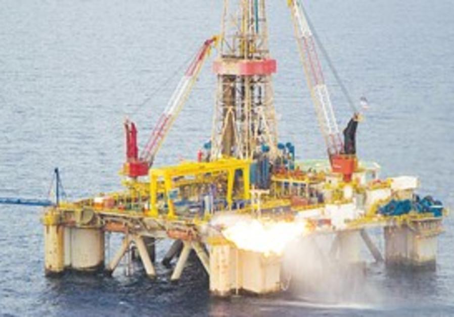 Tamar offshore gas field.