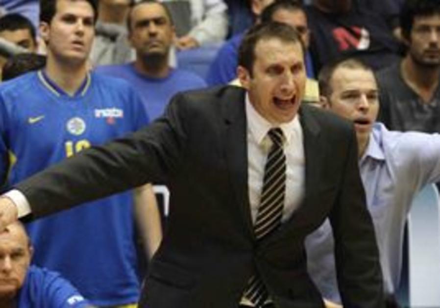 Macabi Tel Aviv coach David Blatt