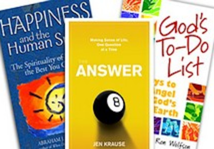 Jewish self-help books flood the shelves this holiday season