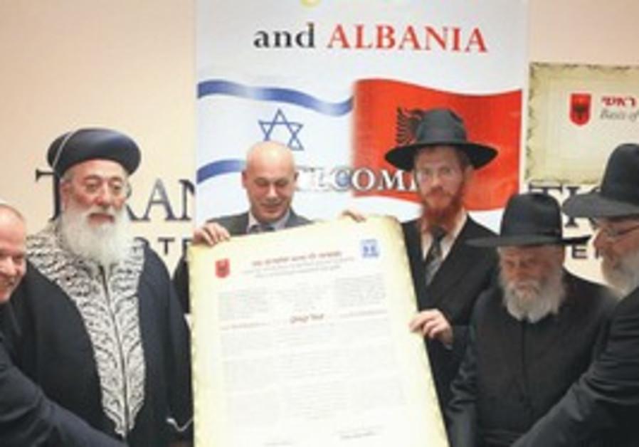 Albanian Jews and Shlomo Amar