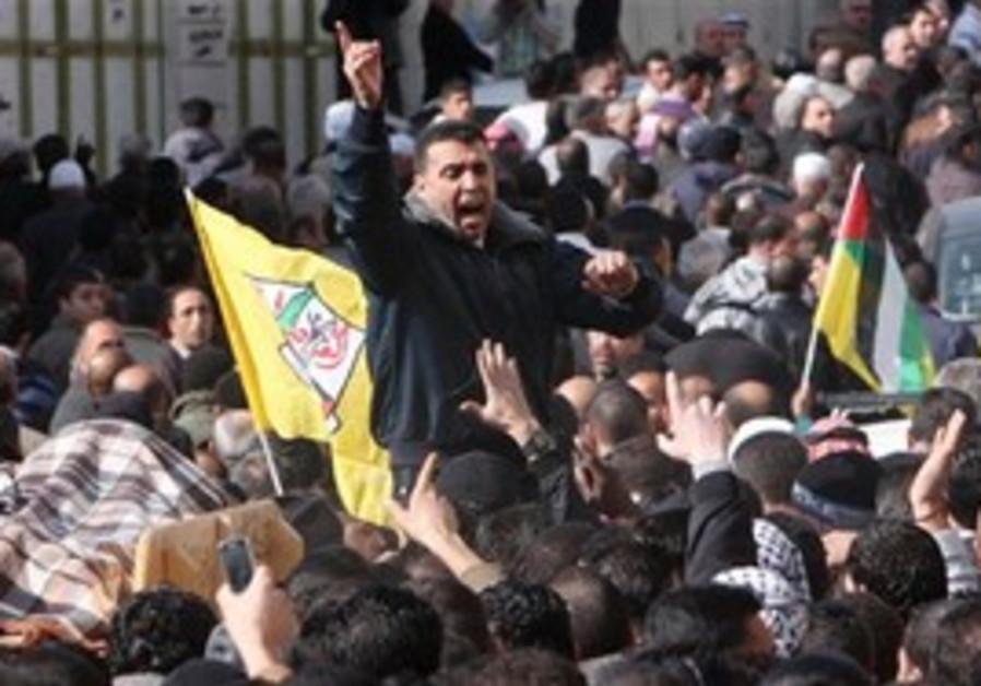 Hebron funeral procession for Omar Kawasmeh