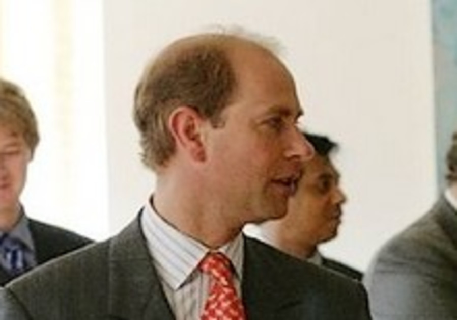 Prince Edward to arrive today; 1st royal visit in decade