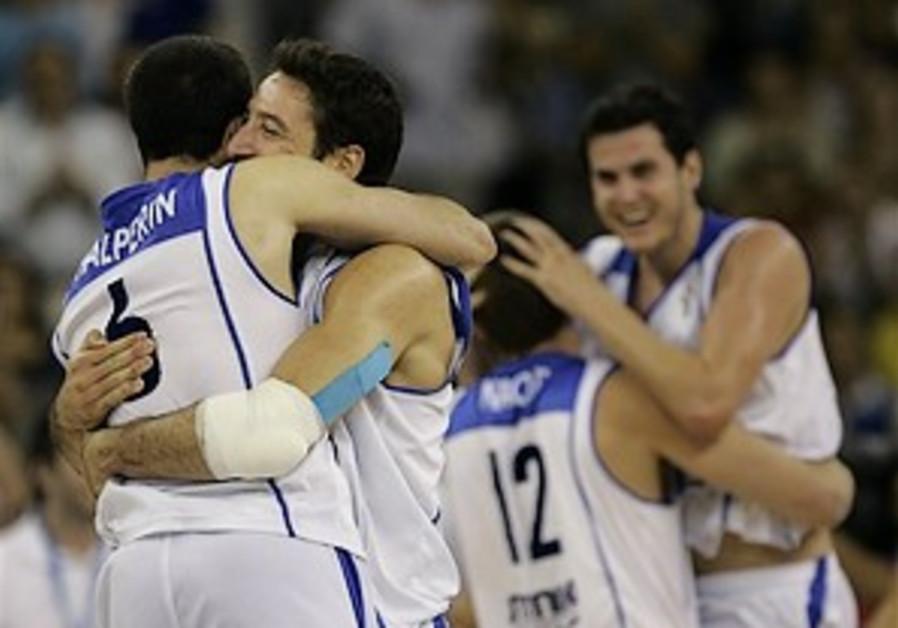 Israel advances in EuroBasket tourney