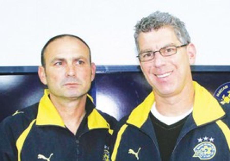 Mac TA owner Goldhar unveils coach Moti Ivanir