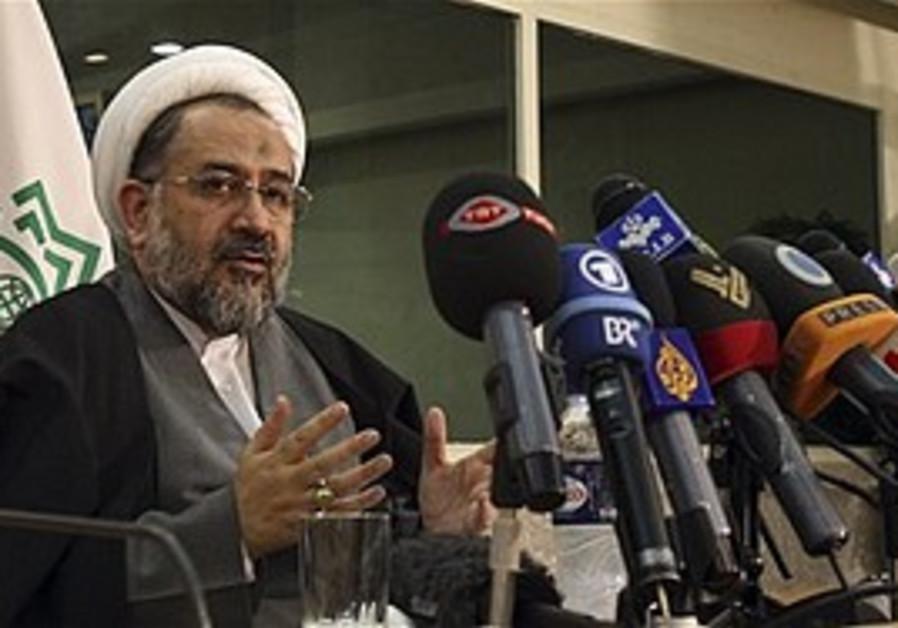 Iranian Intelligence Minister Heidar Moslehi