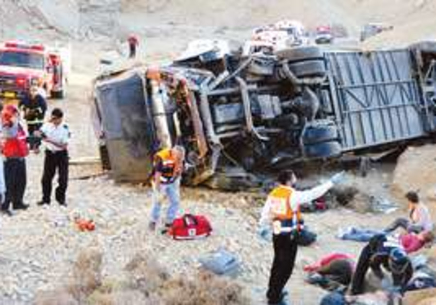 2008 car accident in Negev