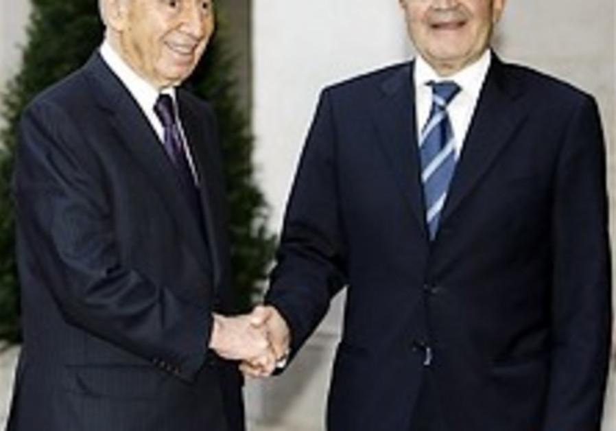 Peres optimistic on ME peace prospects