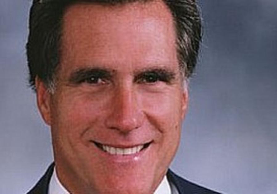 Former Massachusetts governor Mitt Romney.