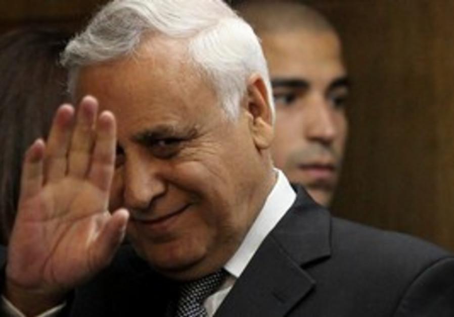 Convicted rapist, former president Moshe Katsav