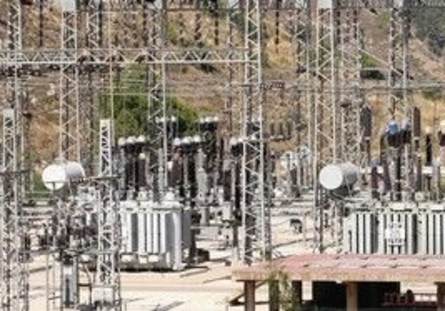 An electrical power grid.