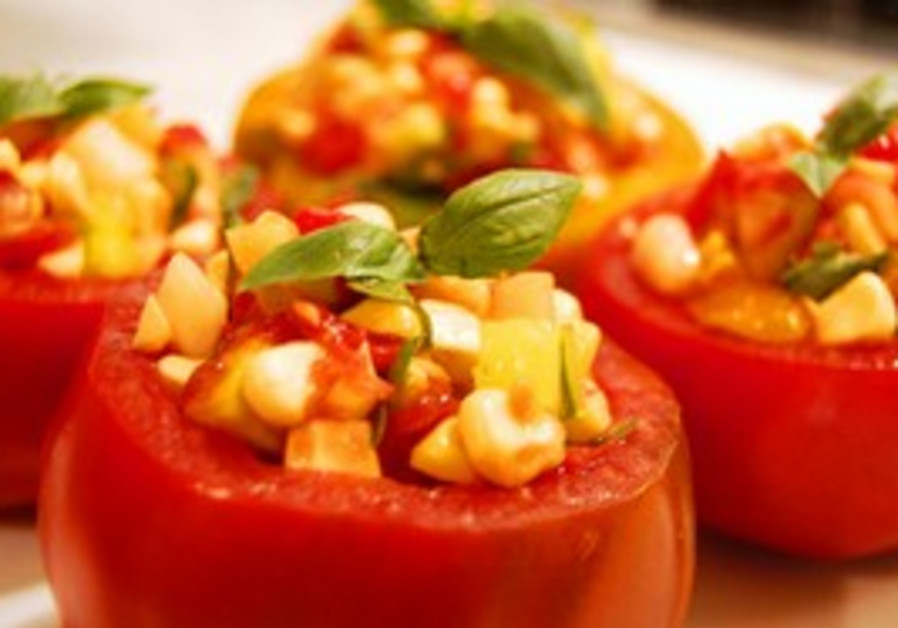 Sensational stuffed tomatoes