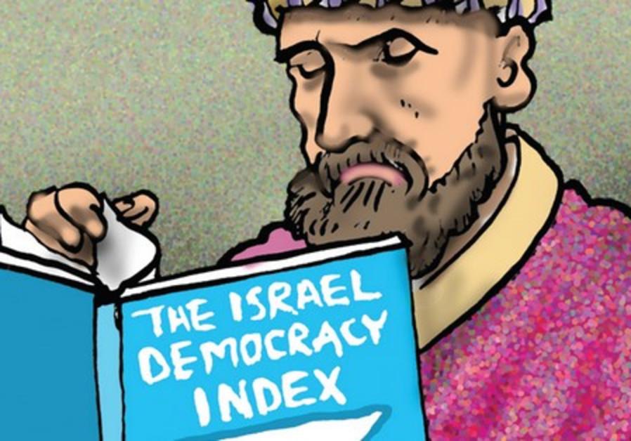 Israel democracy index