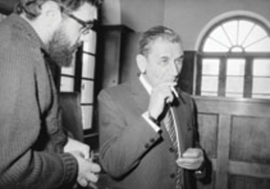Meyer Lansky appeals to Israeli court, 1072