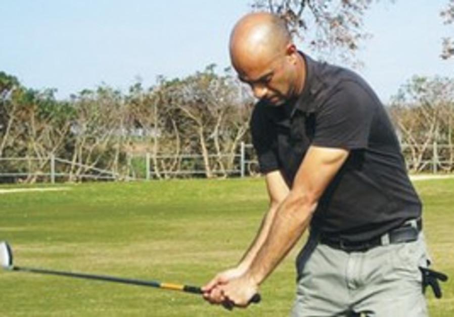 ISRAELI GOLF professional and winner of the 2006 M