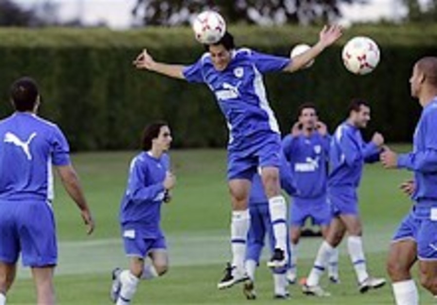 Soccer: Calm Israel ready for England clash