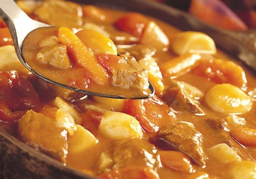 Meat and potatoe stew.