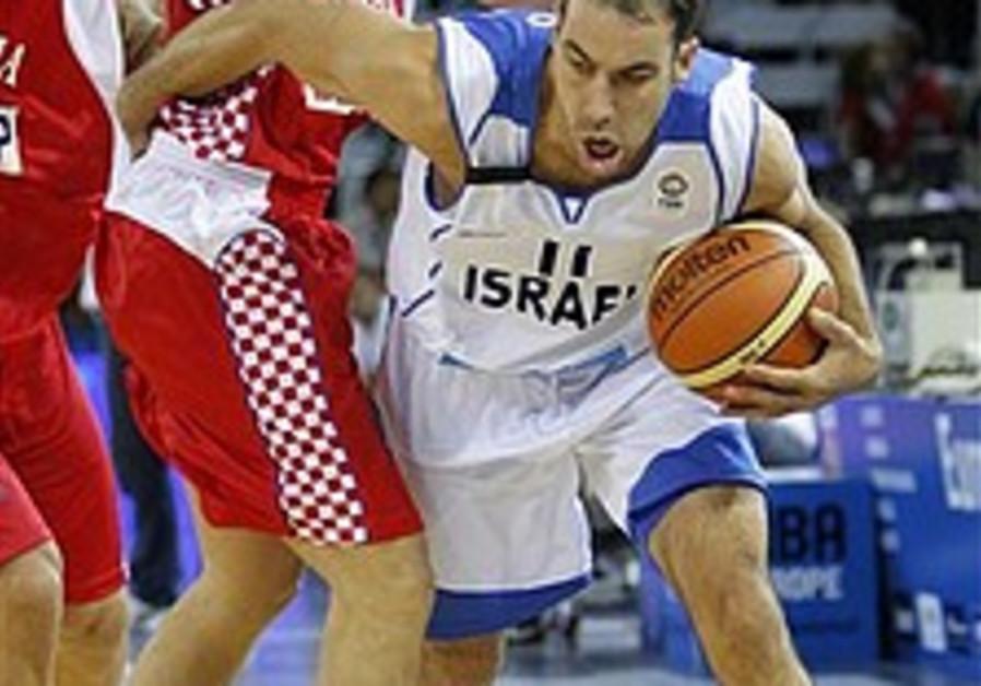 EuroBasket: Israel beats Croatia 80-75