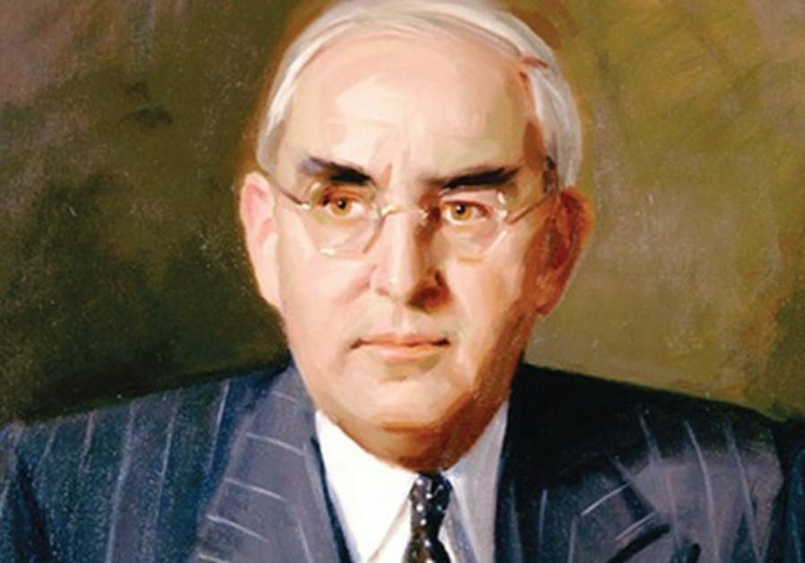Republican Sen. Arthur Vandenberg.