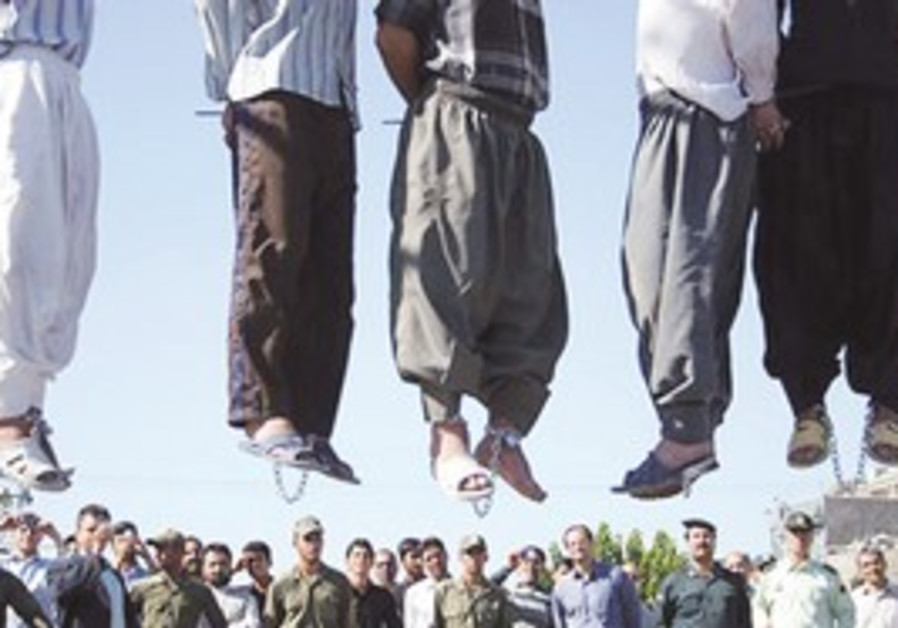 Hangings in Iran