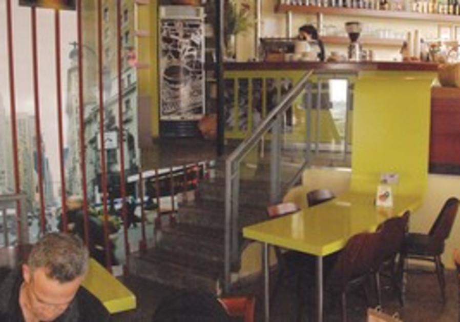 Cafe Joe in Jerusalem.