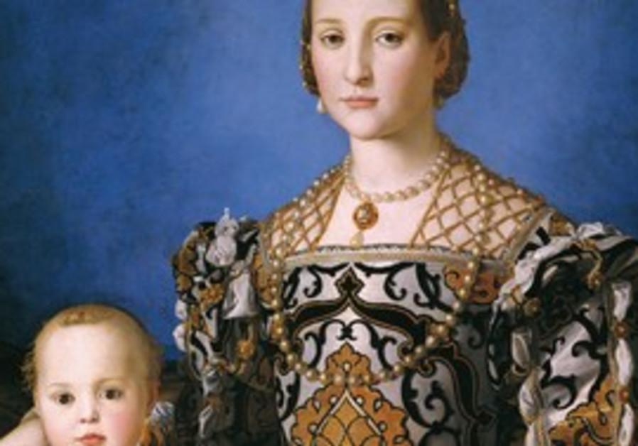 PORTRAIT OF Eleonora of Toledo with her son, Giova