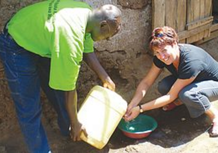 OSNAT KEIDAR taught Kenyan educators to fight dise