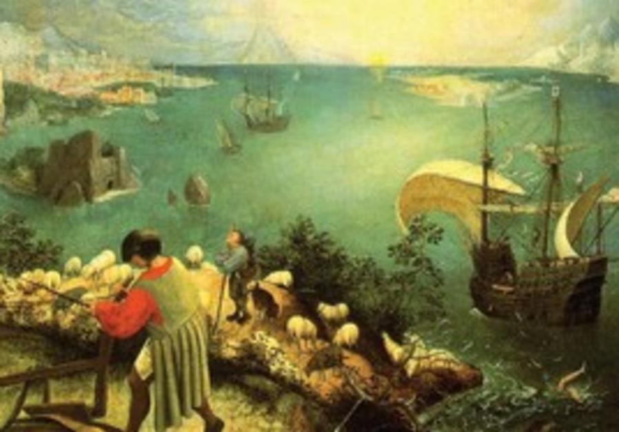 'Fall of Icarus' by Peter Breughel the Elder
