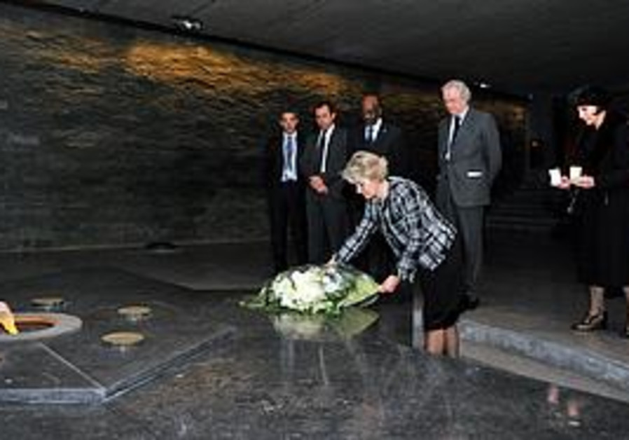UNESCO Director General visits Holocaust memorial