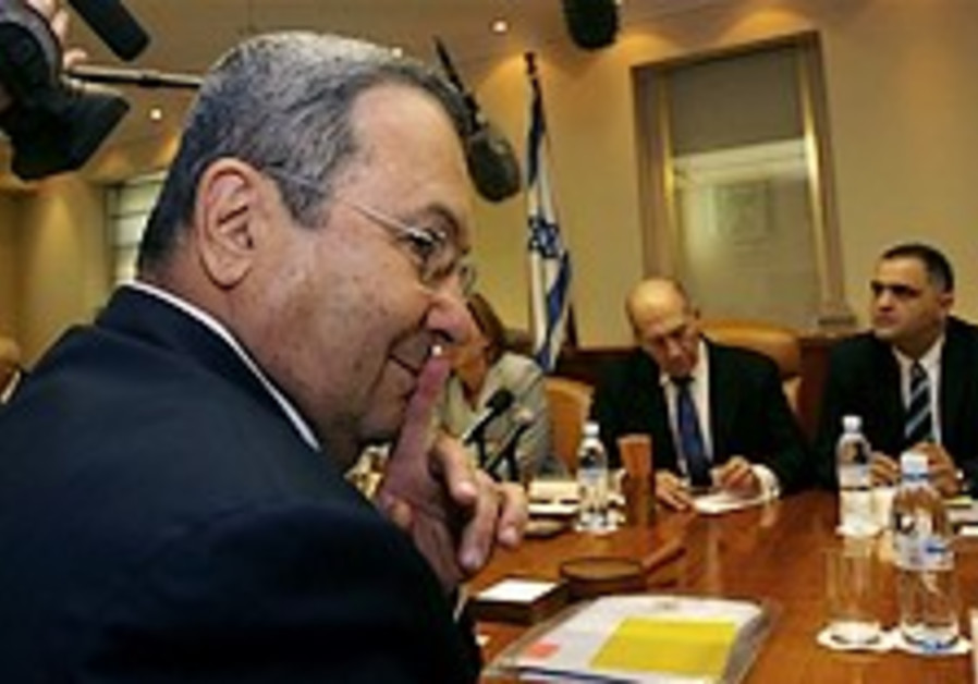 Barak: Ayalon joining cabinet won't extend Olmert's tenure