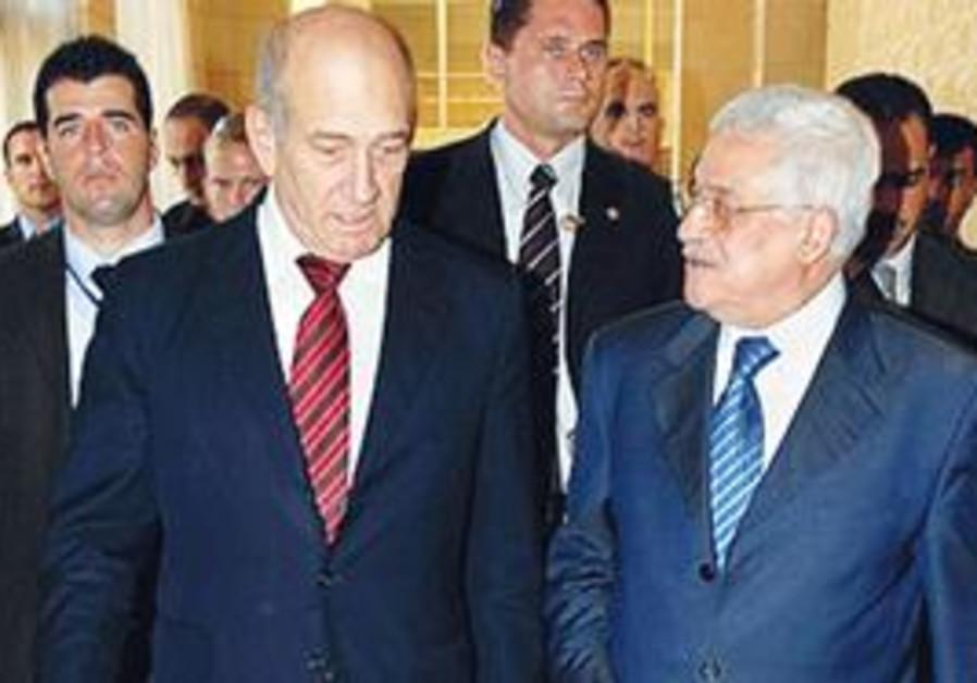 Olmert and Abbas