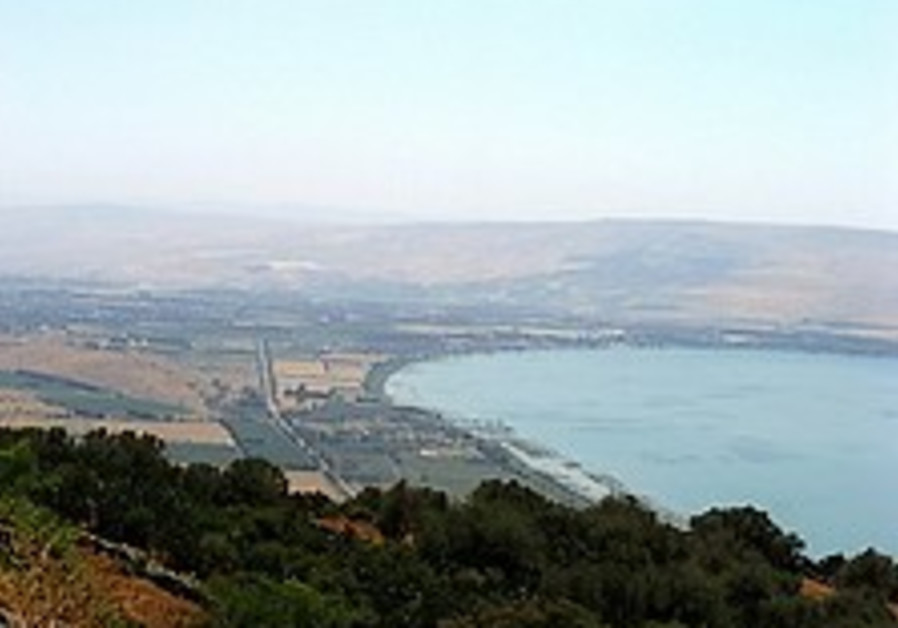 Kinneret at the lowest level in five years