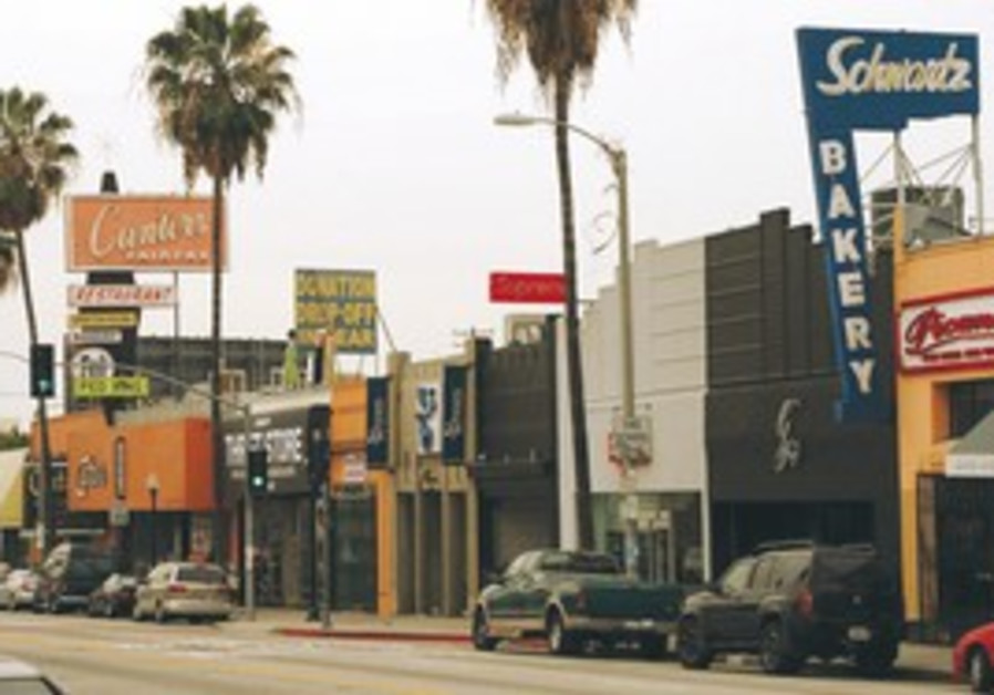 JEWISH L.A. The Fairfax district