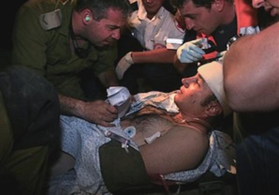 Ashkelon's Barzilai Hospital copes with sudden casualties
