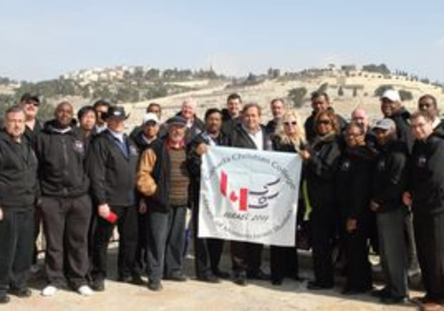 The pastors visit the City of David