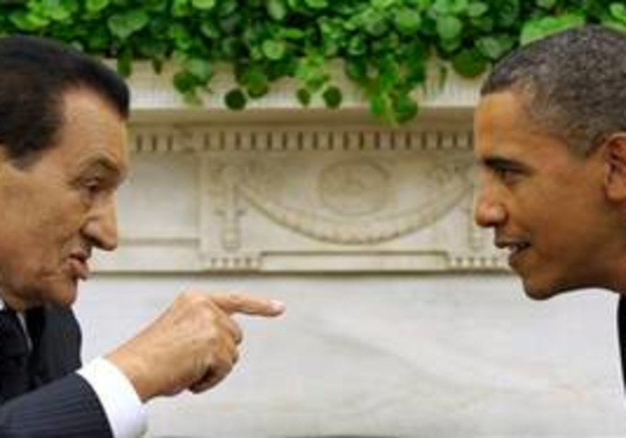Obama & Mubarak