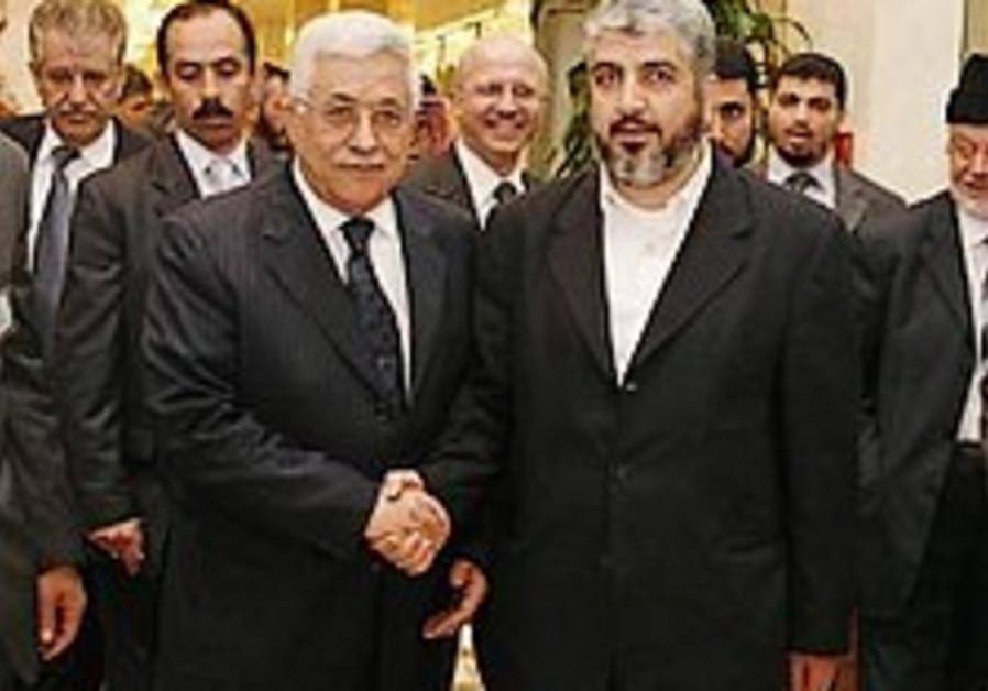 Saudis, Egyptians refuse Mashaal visit