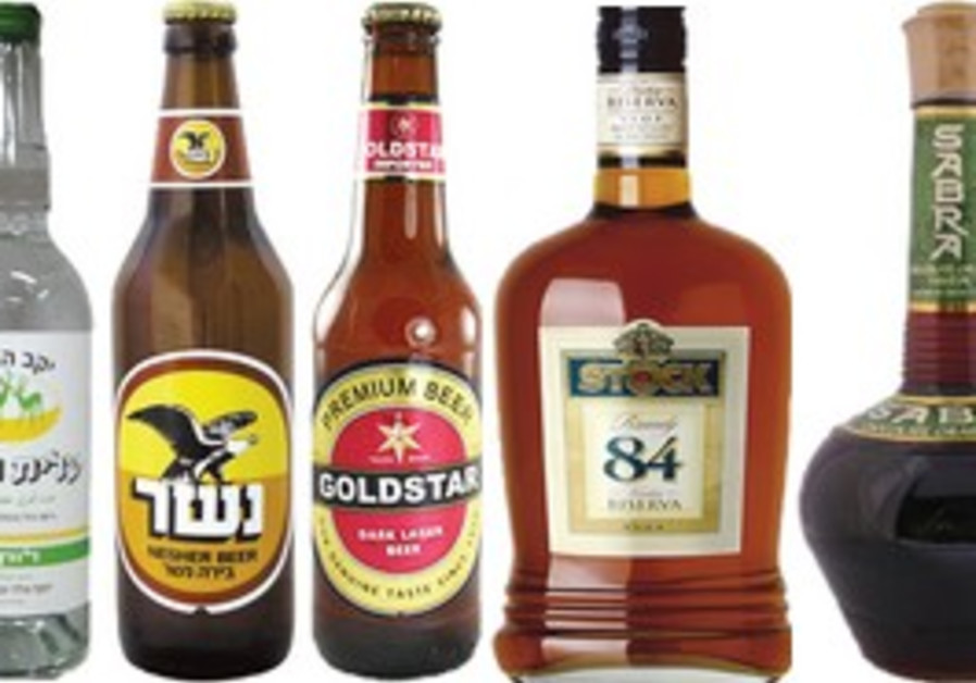 Israeli alcoholic beverages.