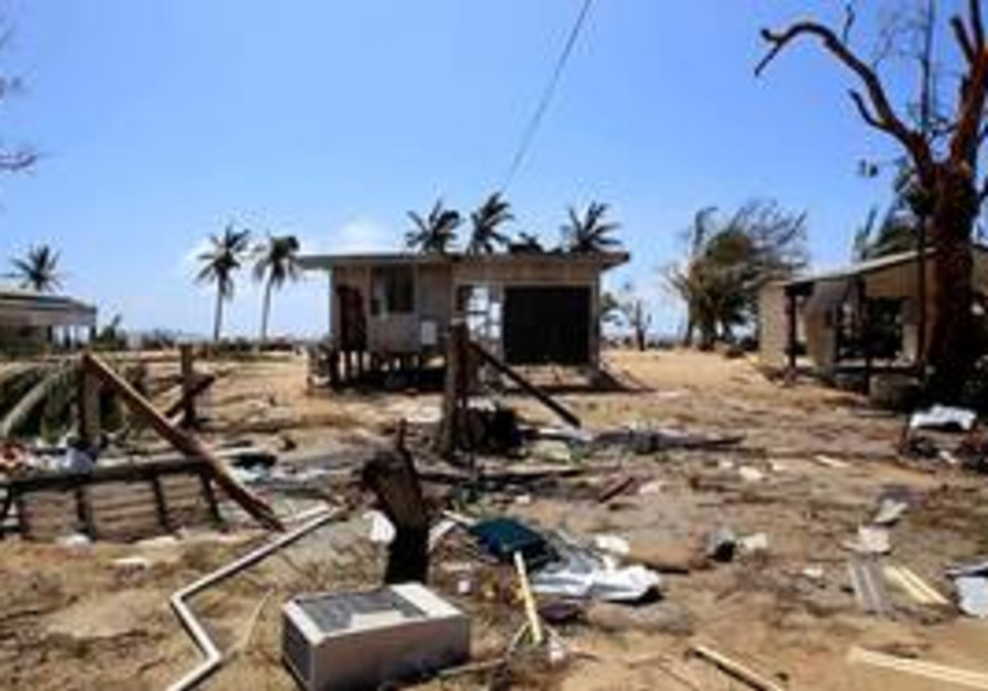 Damage caused by Cyclone Yasi