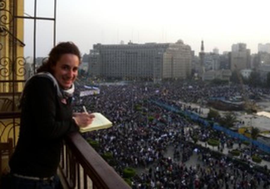 Melanie Lidman in Cairo's Tahrir Square