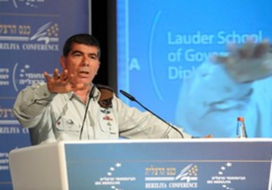 Gabi Ashkenazi at Herzliya Conference