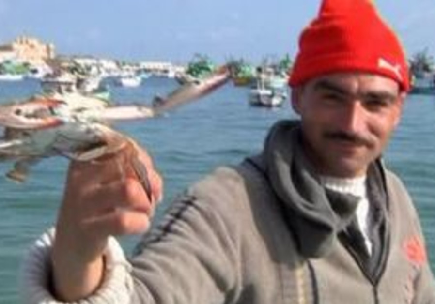 Egyptian fisherman